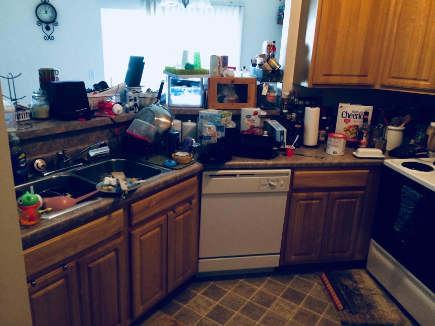 My Disaster of a Kitchen